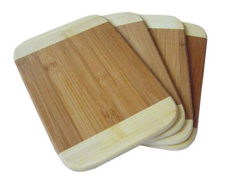 brotzeitbrettchen vesper set aus bambus holz. Black Bedroom Furniture Sets. Home Design Ideas