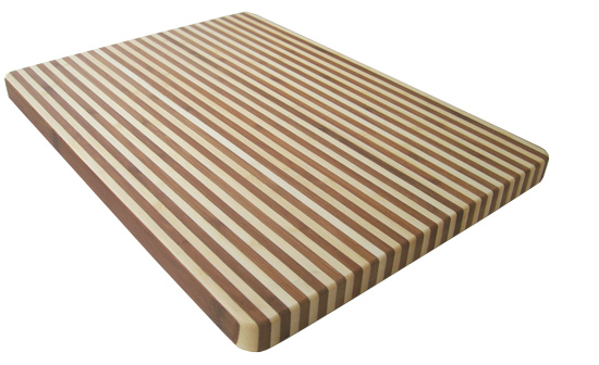 k chen schneidebrett stripe design bambusholz. Black Bedroom Furniture Sets. Home Design Ideas