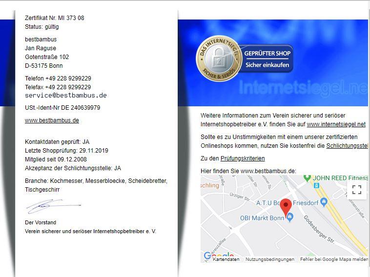 shop-zertifikat