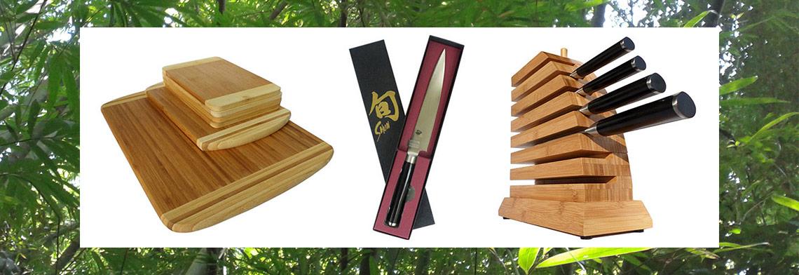 Bambus Produkte für Koch und Küche